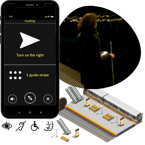 evelity metro wayfinding solution for people with disabilities-2